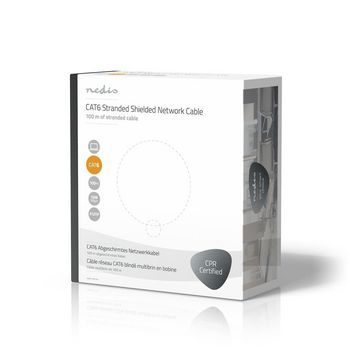 CAT6 F/UTP Network Cable | Stranded - 100 m | Grey