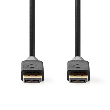 DisplayPort 1.4 Cable | DisplayPort Male - DisplayPort Male | 2.00 m | Anthracite