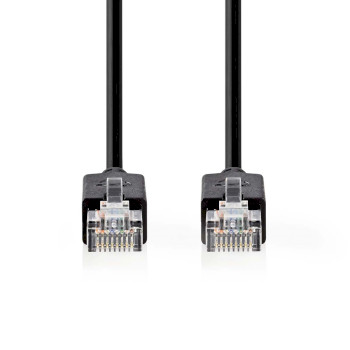 Cat 5e UTP Network Cable | RJ45 (8P8C) Male - RJ45 (8P8C) Male | 10 m | Anthracite