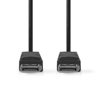 DisplayPort 1.2 Cable | DisplayPort Male - DisplayPort Male | 2.0 m | Black