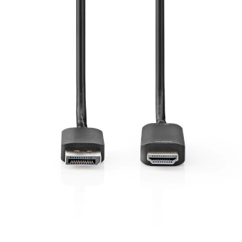 Kabel DisplayPort - HDMI™ | 1.4 | DisplayPort-Stecker - HDMI™-Stecker | 2,0 m | Schwarz