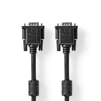 VGA-Kabel | VGA Male - VGA Male | 3,0 m | Zwart