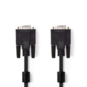 VGA Cable | VGA Male - VGA Male | 5.0 m | Black