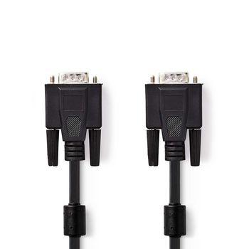 VGA-Kabel | VGA Male - VGA Male | 5,0 m | Zwart