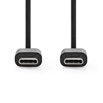 USB 2.0 Cable | Type-C Male - Type-C Male | 1.0 m | Black