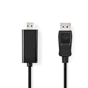 DisplayPort - HDMI™ Cable | DisplayPort Male - HDMI™ Connector | 2.0 m | Black