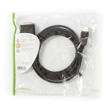 DisplayPort - DVI Cable   DisplayPort Male - DVI-D 24+1-Pin Male   3.0 m   Black