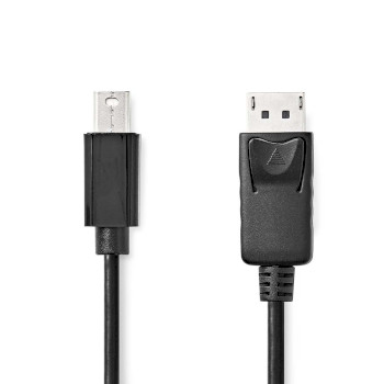 Mini DisplayPort - DisplayPort Cable | Mini DisplayPort male - DisplayPort Male | 3.0 m | Black