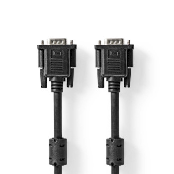 VGA Cable | VGA Male - VGA Male | 5.0 m | Black
