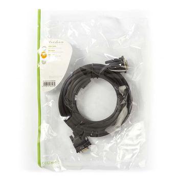 VGA Cable   VGA Male - VGA Male   5.0 m   Black
