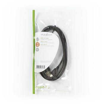 USB 2.0 Cable | A Male - Mini 5-pin Male | 2.0 m | Black