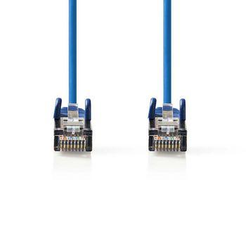 Cavo di rete Cat 5e SF/UTP | RJ45 maschio - RJ45 maschio | 20 m | Blu