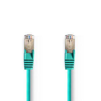 CAT5e SF/UTP-Netwerkkabel | RJ45 Male - RJ45 Male | 0,25 m | Groen