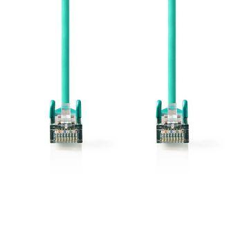 CAT5e SF/UTP-Netwerkkabel | RJ45 Male - RJ45 Male | 1,5 m | Groen