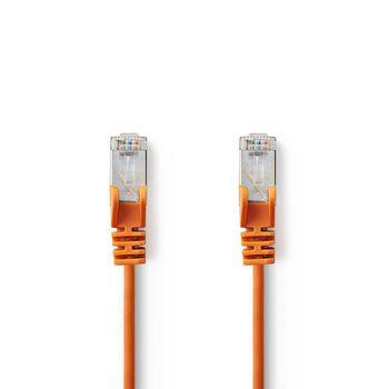CAT5e SF/UTP-Netwerkkabel | RJ45 Male - RJ45 Male | 1,5 m | Oranje