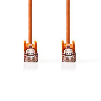 CAT5e SF/UTP-Netwerkkabel | RJ45 Male - RJ45 Male | 5,0 m | Oranje