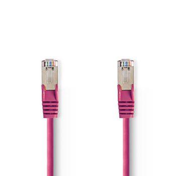 CAT5e SF/UTP-Netwerkkabel   RJ45 Male - RJ45 Male   5,0 m   Roze