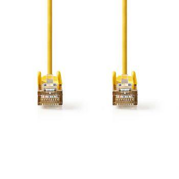 CAT5e SF/UTP-Netwerkkabel | RJ45 Male - RJ45 Male | 1,0 m | Geel