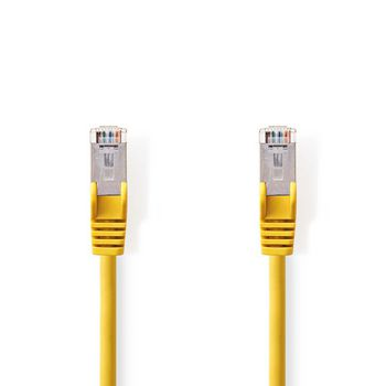 CAT5e SF/UTP-Netwerkkabel   RJ45 Male - RJ45 Male   5,0 m   Geel