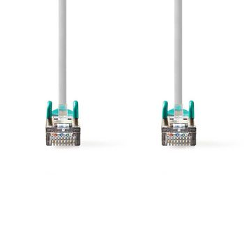 CAT5e SF/UTP Crossover-Netwerkkabel | RJ45 Male - RJ45 Male | 5,0 m | Grijs