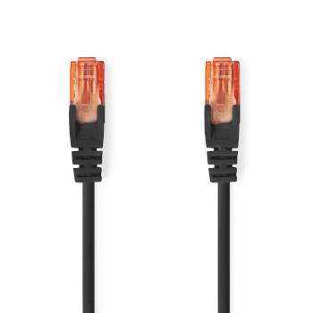 Cat 6 UTP Network Cable | RJ45 Male - RJ45 Male | 1.0 m | Black