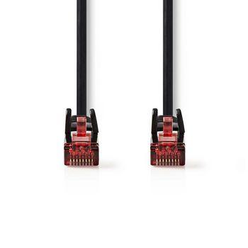 Cable de Red CAT6 UTP | RJ45 Macho - RJ45 Macho | 5,0 m | Negro