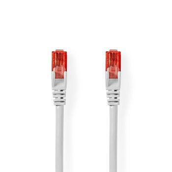 CAT6 UTP Network Cable | RJ45 (8P8C) Male - RJ45 (8P8C) Male | 1.5 m | White
