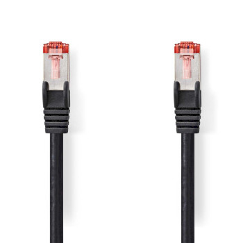 Cable de Red CAT6 S/FTP | RJ45 Macho - RJ45 Macho | 2,0 m | Negro