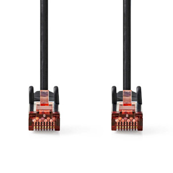 Cat 6 S/FTP Network Cable | RJ45 Male - RJ45 Male | 5.0 m | Black