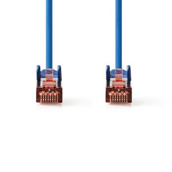 Cat 6 S/FTP Network Cable | RJ45 Male - RJ45 Male | 30 m | Blue