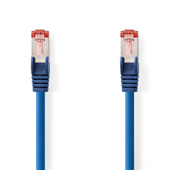 Cable de Red CAT6 S/FTP | RJ45 Macho - RJ45 Macho | 5,0 m | Azul