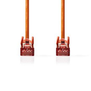 Cavo di rete Cat 6 S/FTP | RJ45 maschio - RJ45 maschio | 1.0 m | Arancione