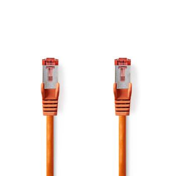Cat 6 S/FTP Network Cable | RJ45 Male - RJ45 Male | 1.5 m | Orange