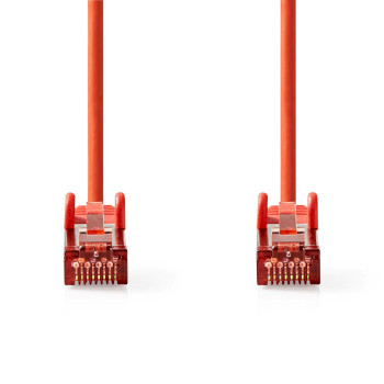 Cat 6 S/FTP Network Cable | RJ45 Male - RJ45 Male | 3.0 m | Red
