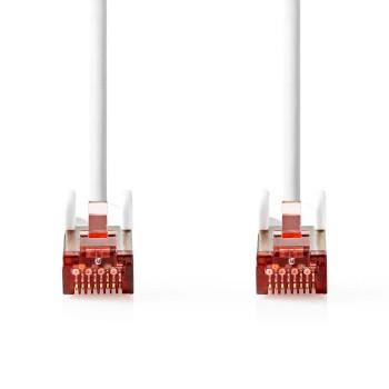 Cable de Red CAT6 S/FTP | RJ45 Macho - RJ45 Macho | 2,0 m | Blanco