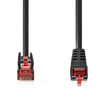 Cat 6 SF/UTP Network Cable   RJ45 Male - RJ45 Male   2.0 m   Black