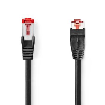 Cable de Red CAT6 SF/UTP | RJ45 Macho - RJ45 Macho | 5,0 m | Negro
