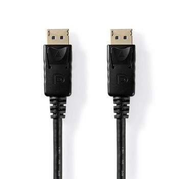 DisplayPort 1.2 Cable   DisplayPort Male   DisplayPort Male   3.0 m   Black