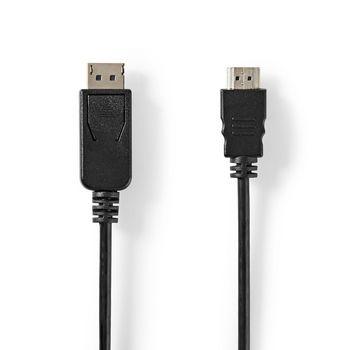 DisplayPort - HDMI™-Kabel | DisplayPort Male | HDMI™-Connector | 2,0 m | Zwart