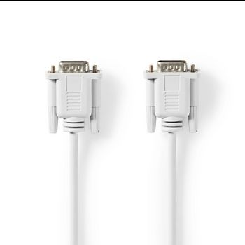 Serial Cable | D-Sub 9-Pin Male | D-Sub 9-Pin Male | 2.0 m | Ivory