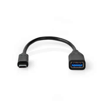 USB-C™ 3.0 Adapter Cable | USB-C™ Male | A Female | 0.2 m | Black