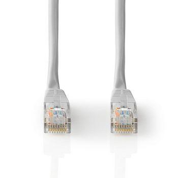 Câble Réseau CAT5e UTP | RJ45 Mâle | RJ45 Mâle | 15,0 m | Gris