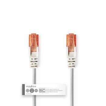 Cat 6 UTP-Netwerkkabel | RJ45 (8P8C) male - RJ45 (8P8C) male | 3,0 m | Grijs