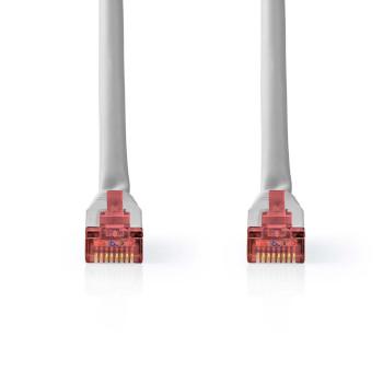 Netwerkkabel CAT6 S/FTP | RJ45 Male | RJ45 Male | 20,0 m | Grijs