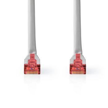 Cable de Red CAT6 S/FTP | RJ45 Macho | RJ45 Macho | 3,0 m | Gris