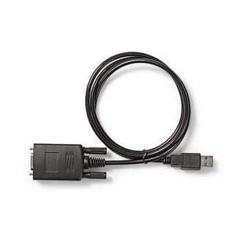 Converter | USB A male to RS232 male | USB 2.0 | 0.9 m cable
