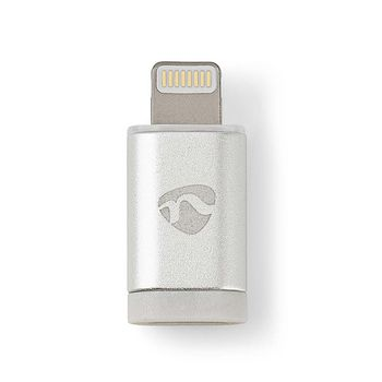 Sync and Charge Adapter | 8-pin Lightning Male to USB 2.0 Micro-B Female