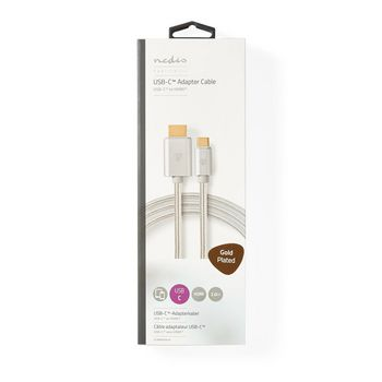 USB-C™-kabel | USB-C-hanstik - HDMI™-hanstik | 2,0 m | Aluminium