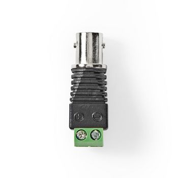 CCTV Security Connector | 5x | 2-Wire to BNC Female