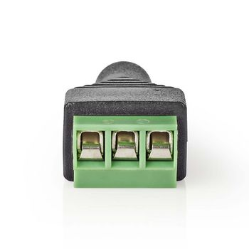 CCTV Security Connector | 5x | 3-Wire to 3.5 mm Female